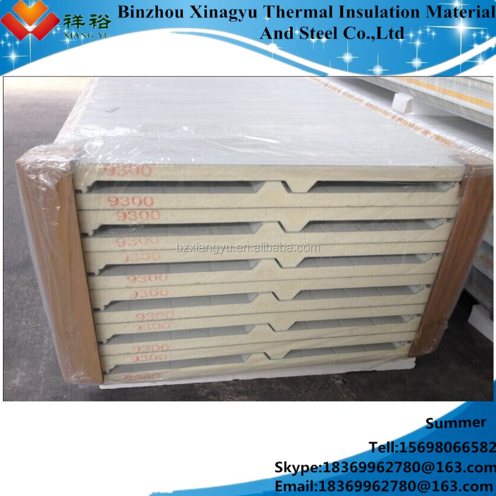 Poly Insulation Panels : Polyurethane rigid insulation board pu sandwich panel made