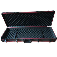 Aluminum Locking Rifle Gun Case Shotgun Storage Box Carry Case