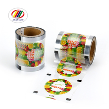 China Factory Custom Logo And Size Printed Food Grade Plastic Cup Sealing Film