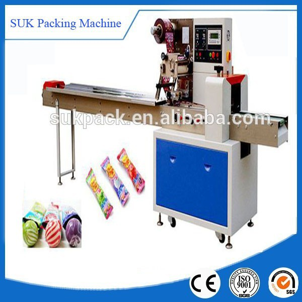 Semi-automatic hard candy/ball lolipop/small hard item packing machine
