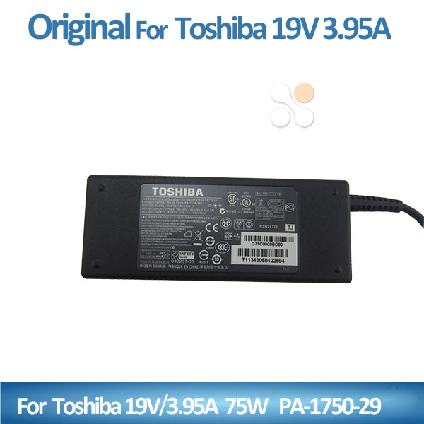 Genuine for Toshiba AC Adapter 75W 19V 3.95A universal laptop charger 5.5*2.5mm