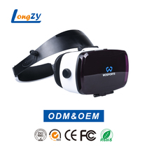 New Arrival Powerful 3D Virtual Reality Glasses Support 3D Movie/Games/Video Android 3D VR Box