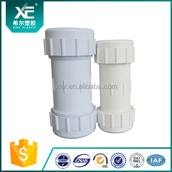 WHITE ANSI PVC Quick Coupling