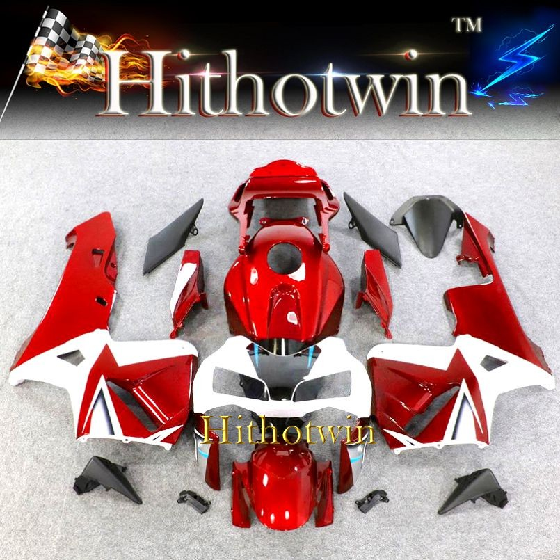 2003 2004 CBR600RR red white Fairings For HONDA CBR 600RR CBR600RR CBR600 2003 2004 Custom Fairing