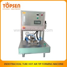 Tracheal tube catheter hot air tip forming machine supplier from Guangzhou