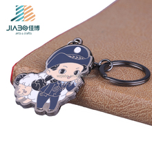 Custom metal made anime game football hard enamel bottle opener car keychain