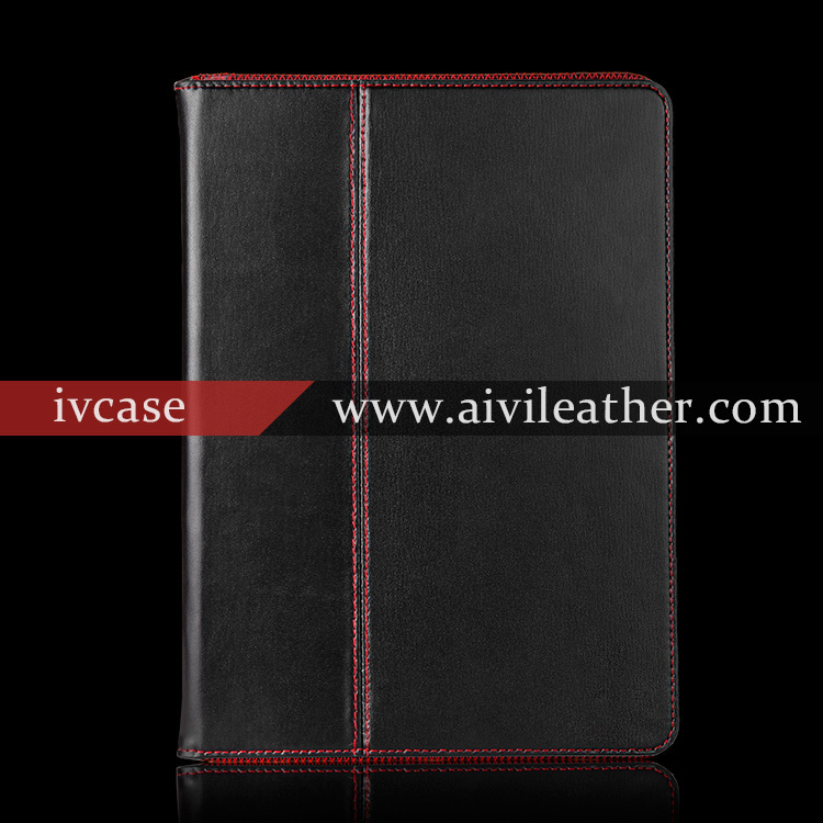 Elegant Sample Fashion Leather Book Case For Ipad Air 2,Magnetic Closure Cover For Ipad 6 Case,Stand Case For Ipad Air 2