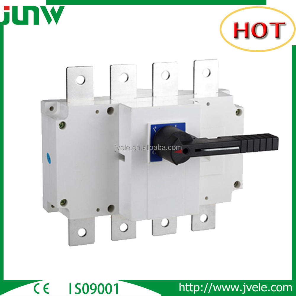 Hot sale 4 pole disconnector isolation transfer manual changeover switch