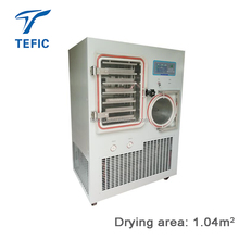 15kg/hour Silicone Oil Heating vacuum freeze dryer machine, Food Lyophilizer Price