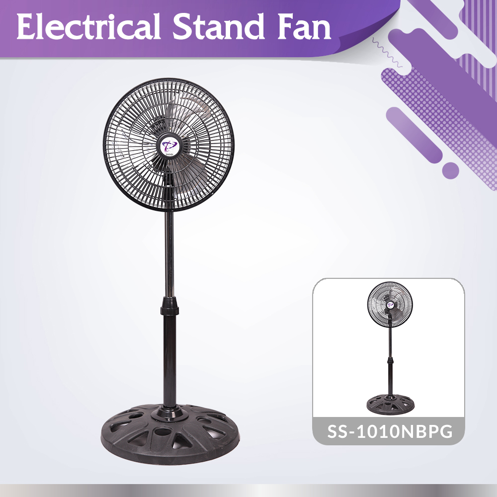 Electric appliance 2017 adjustable height SS-1010NBPG standing floor fan