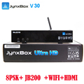 North America strong hd digital satellite receiver Jynxbox V30 support ATSC + 8PSK tuner