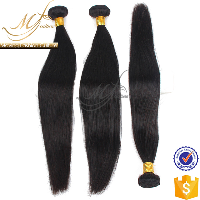Raw Virgin Unprocessed Brazilian Human Hair Sew in Weave Brazilian Straight Hair