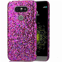 Glitter Powder Bling Bling Back Phone Case For LG G5 Mobile Phone Accessories.