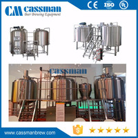 10BBL 30BBL Turnkey Beer Brewing System