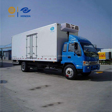 Cold Container Truck Cold Delivered cold plate freezer truck