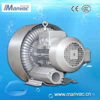 china factory wholesale15KW 200v-240v aluminium Oil free pcb sleaning suction machine used high pressure centrifugal air blower