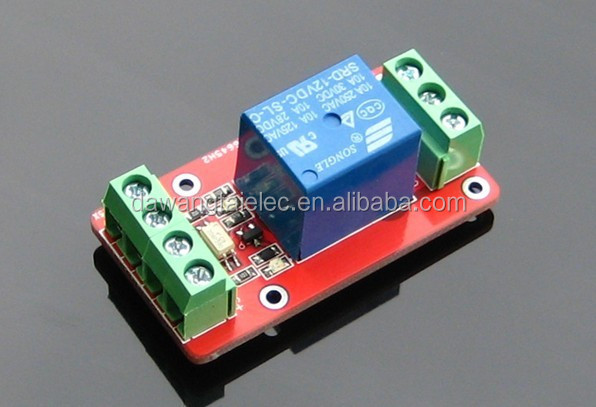 RM1HLE Double-isolation 1 Single-channel Relay Control Module High/Low Level 5/12/24V Optional