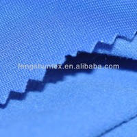 one side brushed fabric/polyester super poly fabric for sportswear