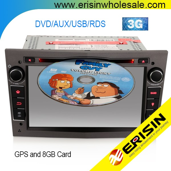 "Erisin ES7160P 7"" HD Car Radio Bluetooth USB 3G for Antara Corsa C D"