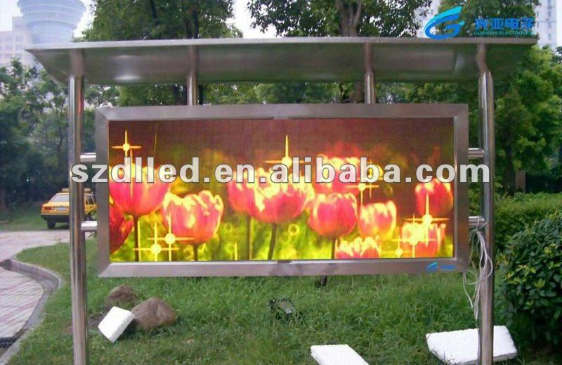 new electronics inventions P10 indoor/outdoor small size full color video advertising led display screen