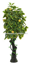 artificial bonsai fruit tree/mini bonsai trees plastic fruit trees artificial fruits and vegetables