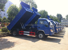 China suppliers FOTON Forland 4X2 3tons Small Dump Truck