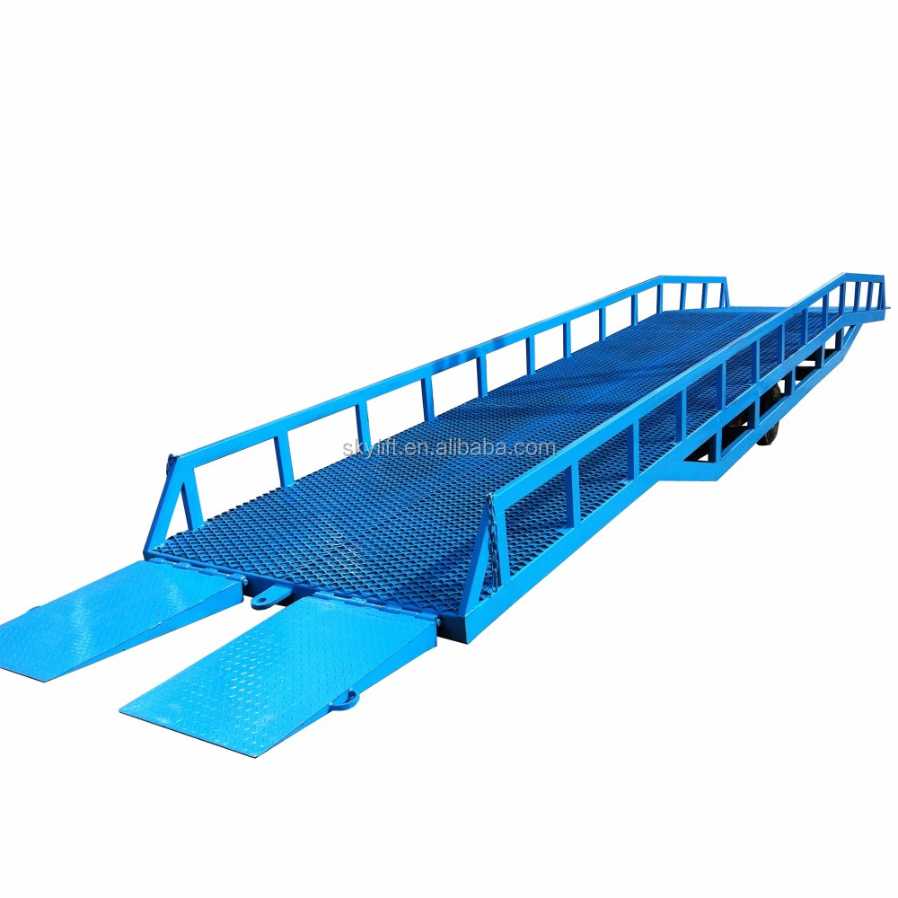 Used mobile loading dock yard ramp