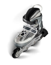 Professioal design PVC 4 wheels roller skates, adjustable roller inline skate speed skate shoes