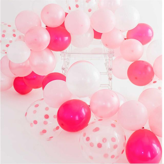 2018 wholesale printable polka dot balloons pink ballon