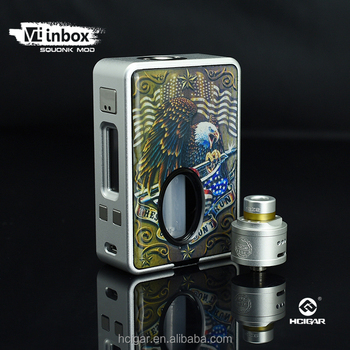 2017 HCigar vt inbox new colors the first one squonk mod VT inbox