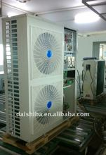 Air source center air conditioner -25kw hot life water, air conditioner heating/cooling all in one