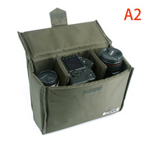 Insert Camera Bags A2 Army Green Storage Hard Bag For Canon Digital Video Camera