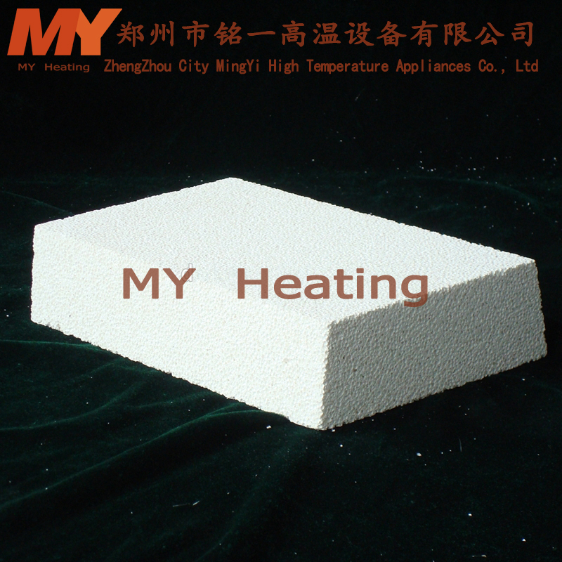 Professional Thin curved fire clay Brick for heating furnace with great price