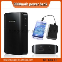 Wholesale factory price 9000mah power bank in stock promotion price