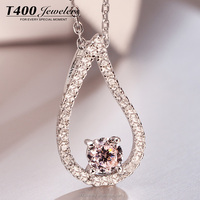 T400 Jewelry S925 Stering Silver Make With Swarovski Zirconia