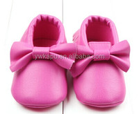 Manudactory Chinese kids wear new model soft leather baby shoes in bulkshoes minions for kids made in China 2016