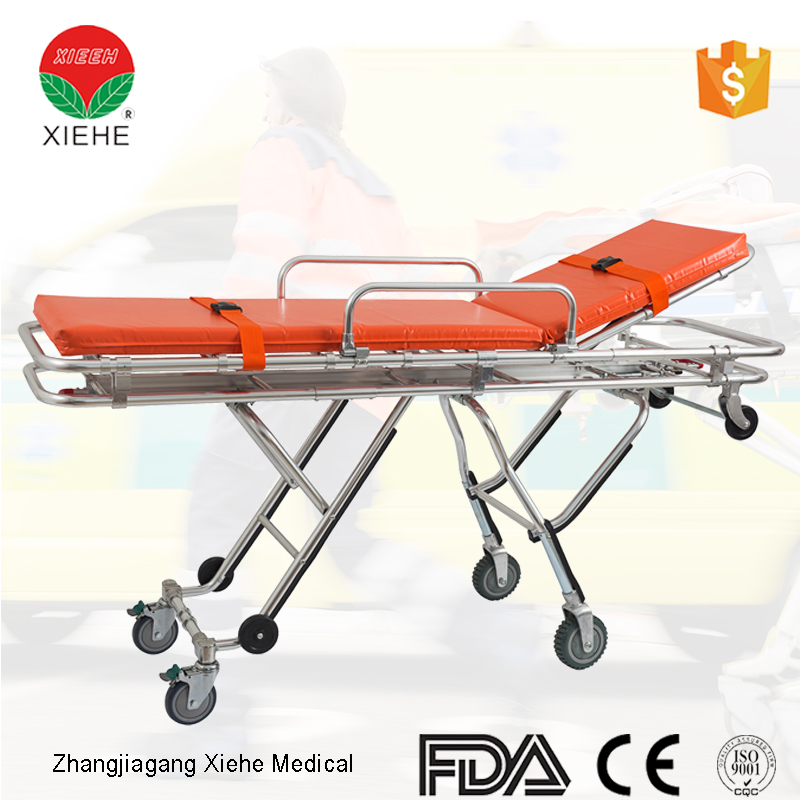 Adjustable patient stretcher helicopter rescue stretcher
