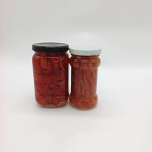Longlife pickled red chili in brine ,canned jalapeno pepper fine workmanship