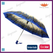 3 fold auto open rain umbrella lady umbrella promotion umbrella