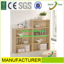 simple design bookcase,wood small wall shelf,new design bookshelf