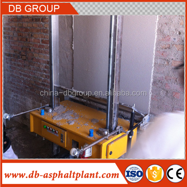 2-28 mm thickness 5m height automatic Wall plaster Rendering machine