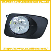 Waterproof auto led drl fog lamp for Toyota Corolla Axio Fielder 2007 ON