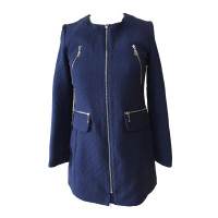 New Style Fashionable Elegant Warm Coat Women Blue