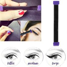 Two Sides Liquid Eyeliner Fast Dry Black Eye Liner Pencil With Eyeliner Cosmetic Tool