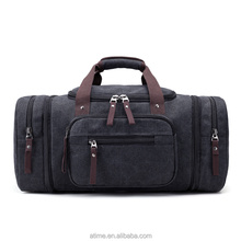 Large capacity canvas leisure travel Antique Hand Bag