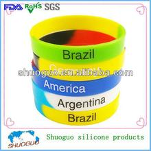 Best gifts for World Cup/promotional items/silicone wristbands/bracelets