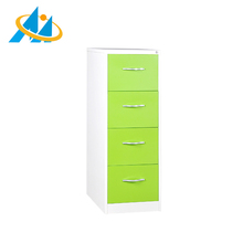 High quality OEM easy assembly office metal 4 drawer file cabinets