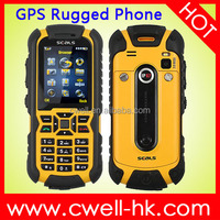 Original SEALS VR7 rugged waterproof cell phone 2 Inch Screen Single SIM Card 2MP with LED Torch E-compass GPS JAVA Unlocked