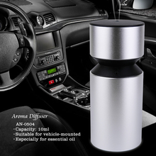 Waterless mini electric usb scent machine air freshener battery operated car aroma nebulizer diffuser