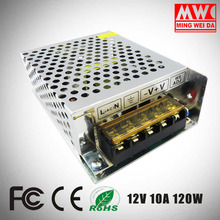 Best Selling Products OEM Logo Printed S-120-12 12v 10a 120w power supply International Factory